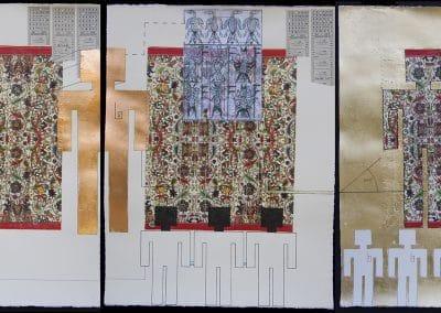 I. G. 001 Triptych